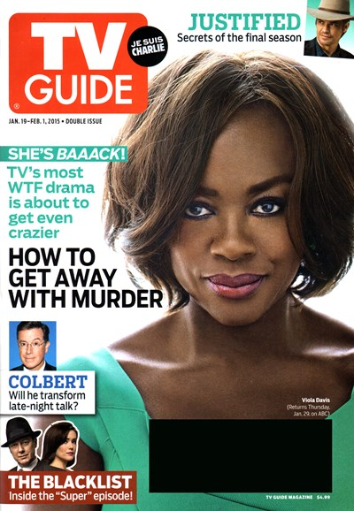 TV Guide Cover - 1/19/2015