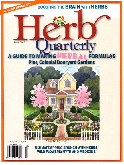 Herb Quarterly Cover - 3/1/2015