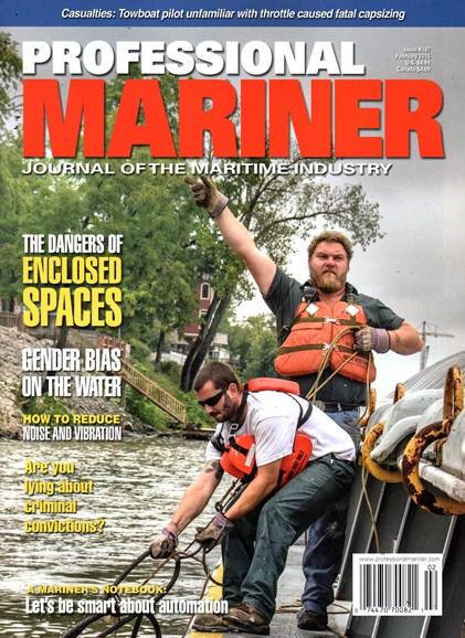 Professional Mariner Cover - 2/1/2015