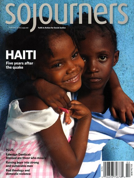 Sojourners Cover - 2/1/2015