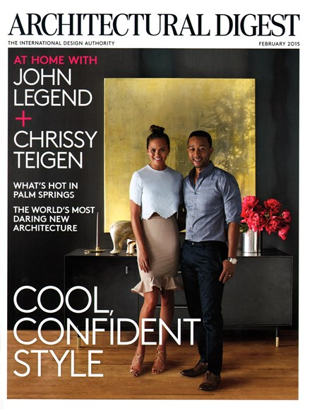 Architectural Digest Cover - 2/1/2015