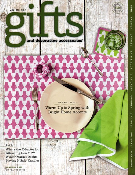 Gifts And Decorative Accessories Cover - 1/1/2015