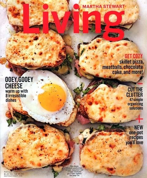 Martha Stewart Living Cover - 2/1/2015