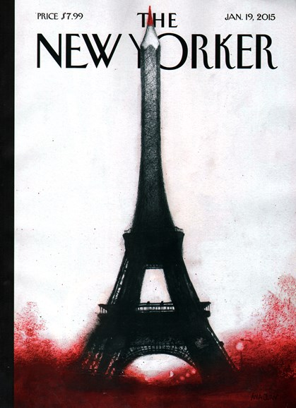 The New Yorker Cover - 1/19/2015
