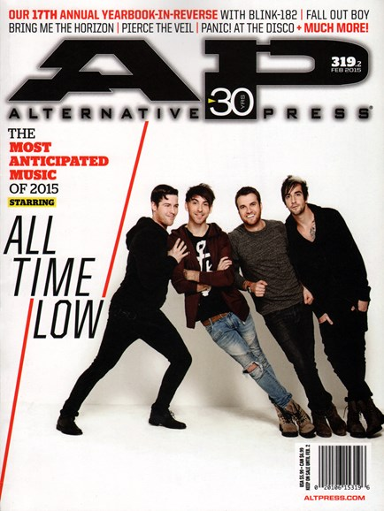 Alternative Press Cover - 2/1/2015