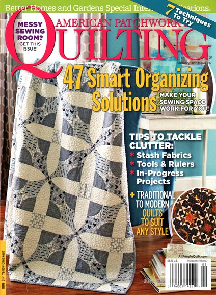 American Patchwork & Quilting Cover - 2/1/2015