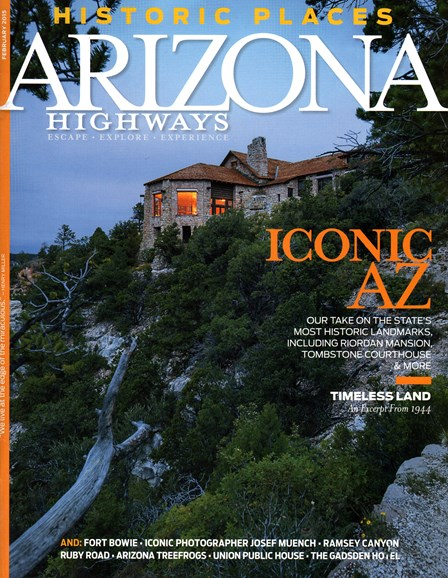 Arizona Highways Cover - 2/1/2015