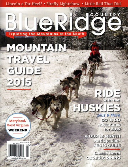 Blue Ridge Country Cover - 2/1/2015