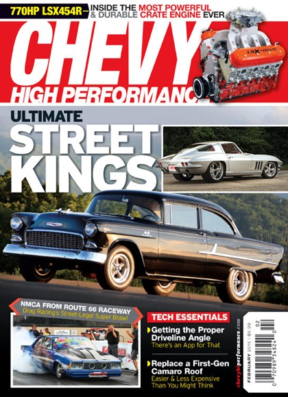 Chevy High Performance Cover - 2/1/2015