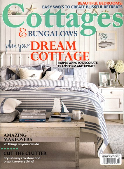 Cottages & Bungalows Cover - 2/1/2015
