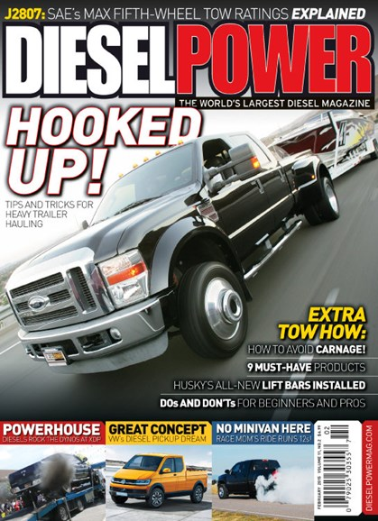 Diesel Power Cover - 2/1/2015