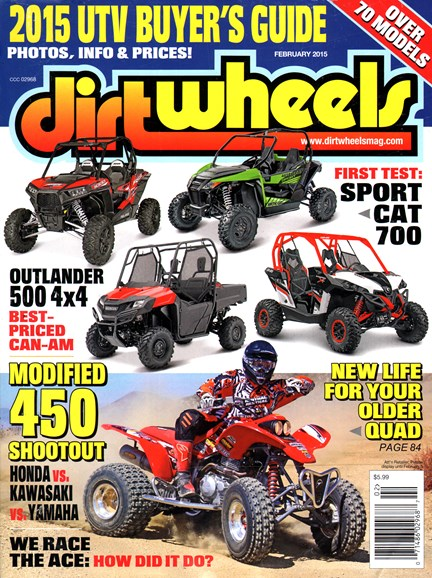 Dirt Wheels Cover - 2/1/2015