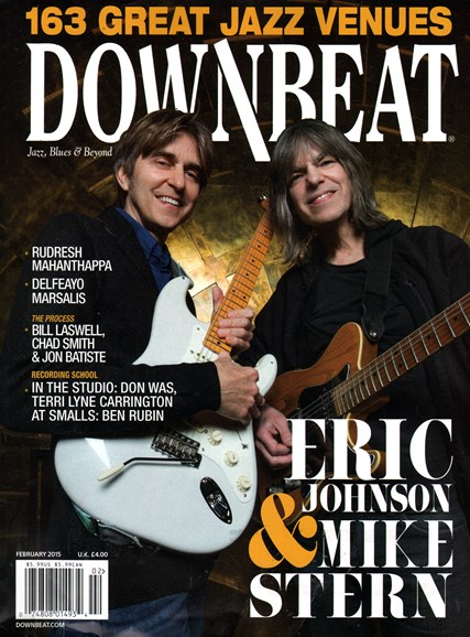 DownBeat Cover - 2/1/2015