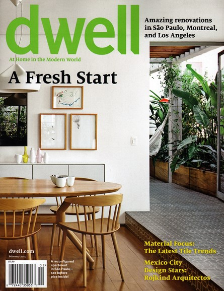 Dwell Cover - 2/1/2015