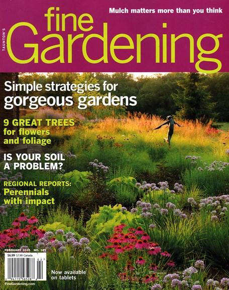 Fine Gardening Cover - 2/1/2015