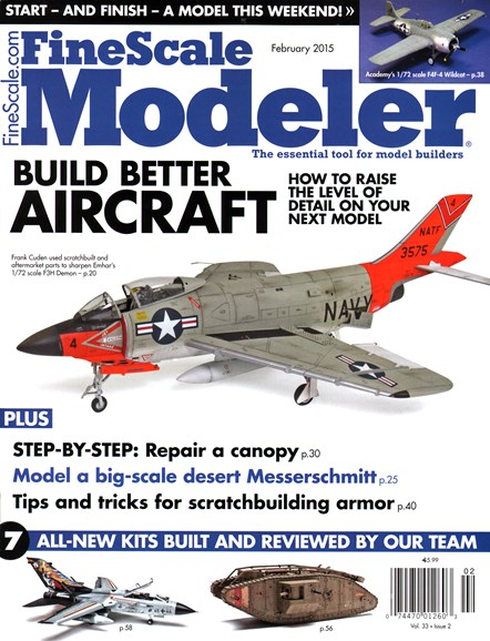 Finescale Modeler Cover - 2/1/2015