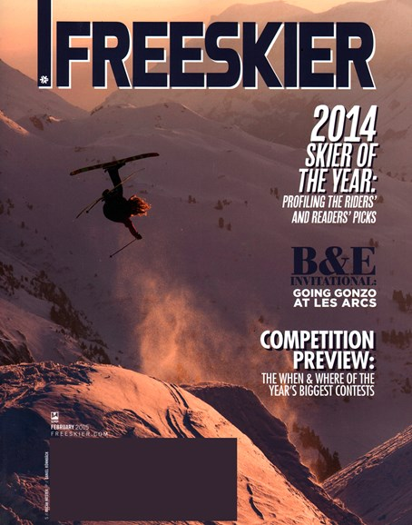 Freeskier Cover - 2/1/2015