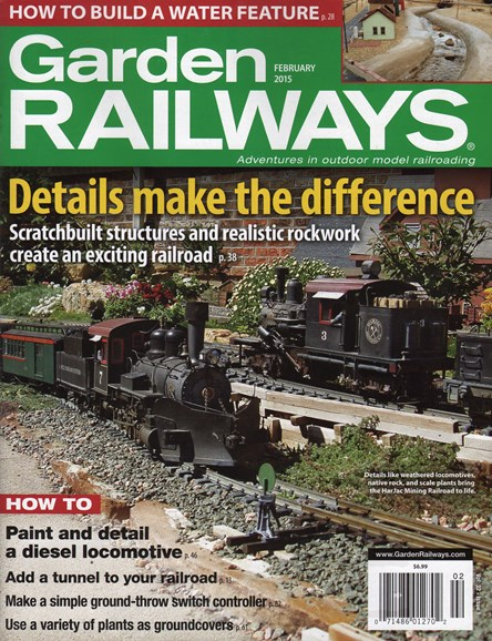 Garden Railways Cover - 2/1/2015