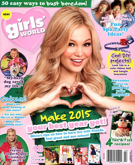 Girls' World Cover - 2/1/2015