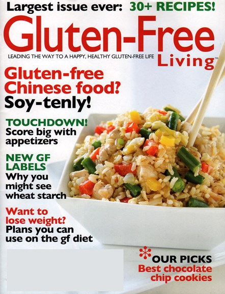 Gluten-Free Living Cover - 2/1/2015