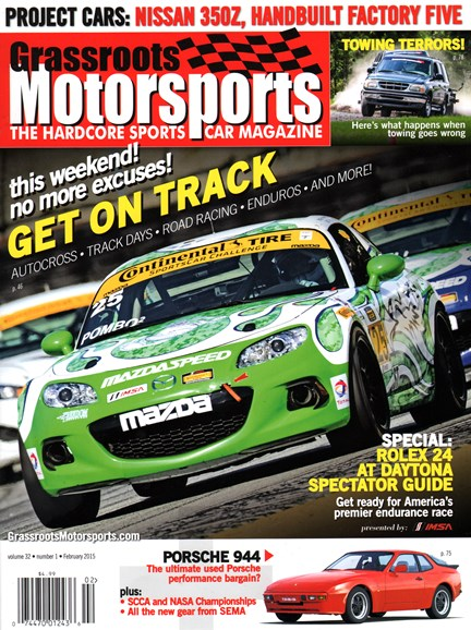 Grassroots Motorsports Cover - 2/1/2015