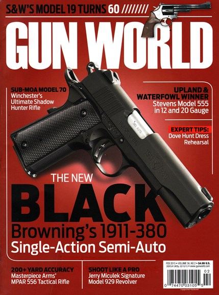 Gun World Cover - 2/1/2015