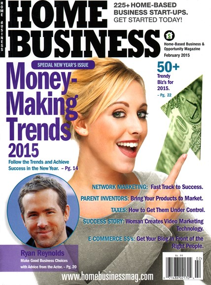 Home Business Magazine Cover - 2/1/2015