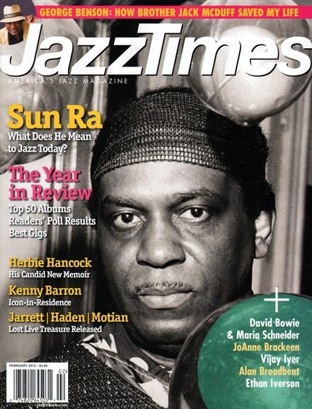 JazzTimes Cover - 2/1/2015