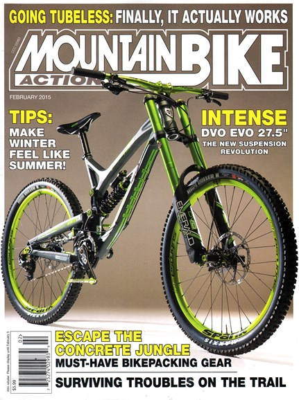 Mountain Bike Action Cover - 2/1/2015
