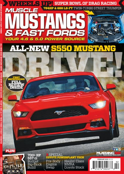 Muscle Mustangs & Fast Fords Cover - 2/1/2015