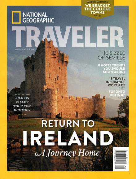 National Geographic Traveler Cover - 2/1/2015