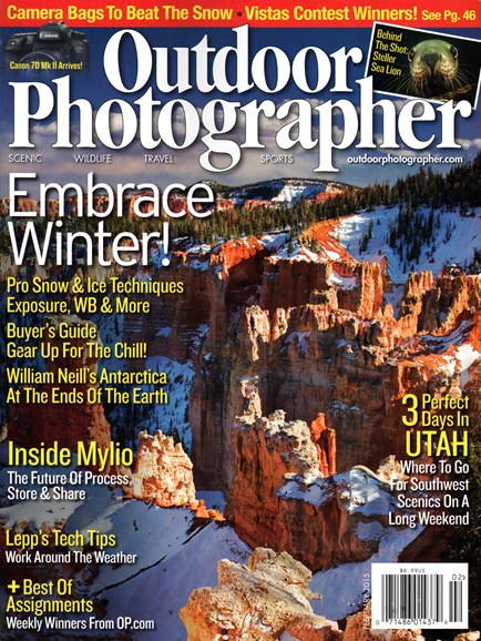Outdoor Photographer Cover - 2/1/2015
