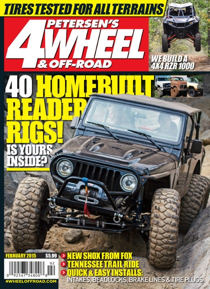 4 Wheel & Off-Road Cover - 2/1/2015