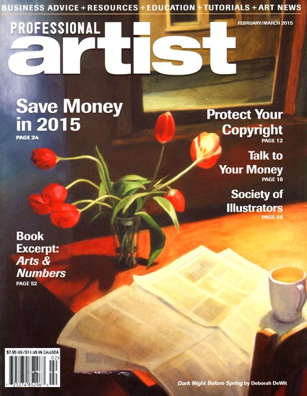Professional Artist Cover - 2/1/2015