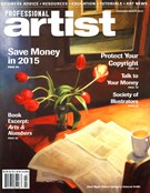Professional Artist Magazine 2/1/2015