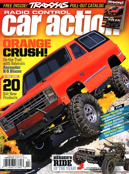 Radio Control Car Action Cover - 2/1/2015