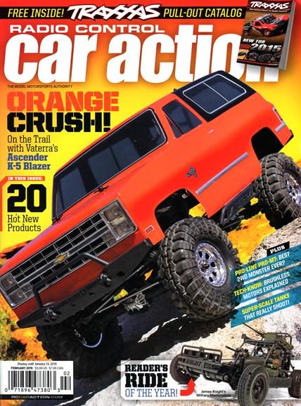 Radio Control Car Action Cover - 2/1/2015
