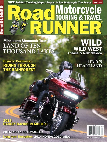 Road RUNNER Motorcycle & Touring Cover - 2/1/2015