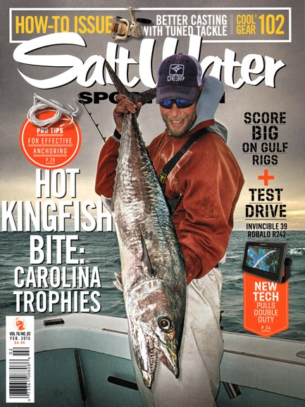 Salt Water Sportsman Cover - 2/1/2015
