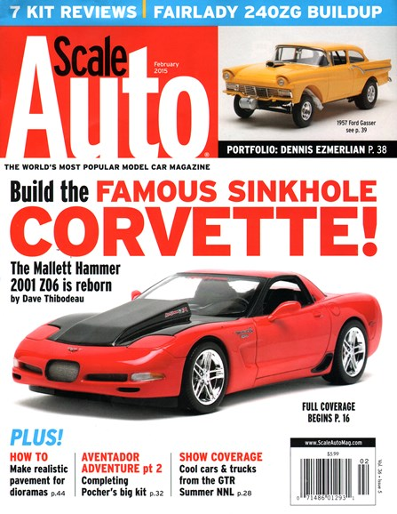 Scale Auto Magazine Cover - 2/1/2015