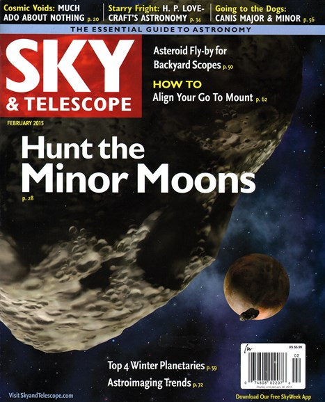 Sky & Telescope Cover - 2/1/2015