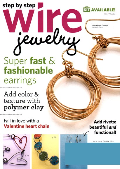 Step By Step Wire Jewelry Cover - 2/1/2015