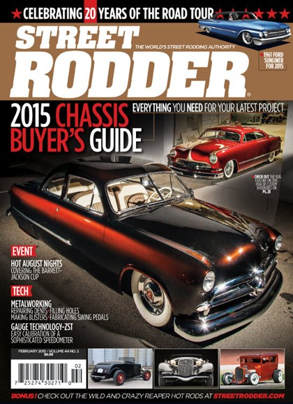 Street Rodder Cover - 2/1/2015