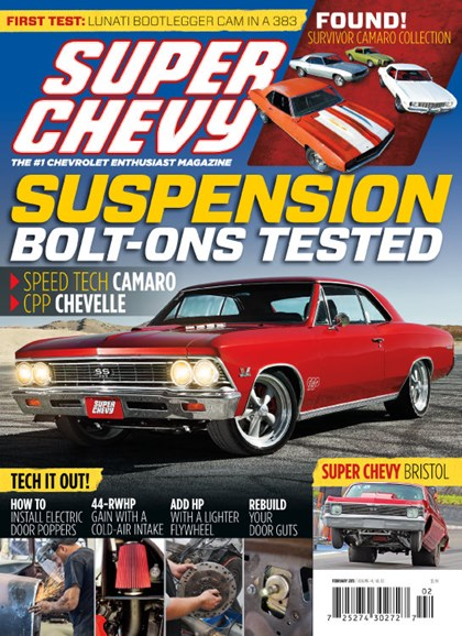 Super Chevy Cover - 2/1/2015