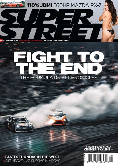 Super Street Cover - 2/1/2015