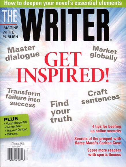 The Writer Cover - 2/1/2015