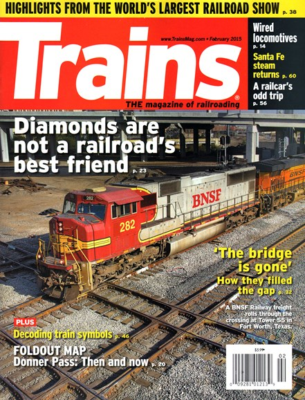 Trains Cover - 2/1/2015