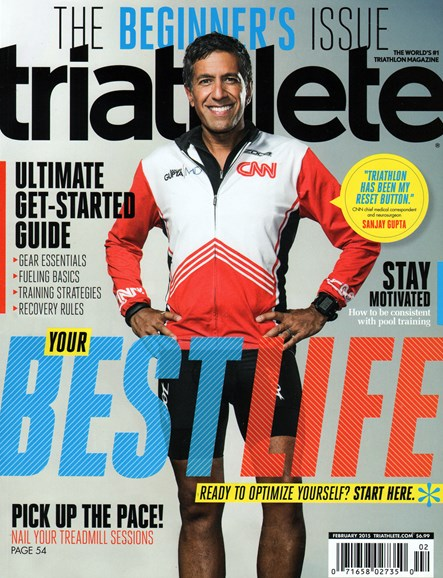 Triathlete Cover - 2/1/2015