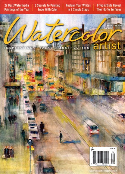 Watercolor Artist Cover - 2/1/2015