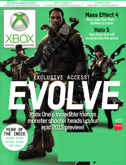 Official Xbox Magazine Cover - 2/1/2015